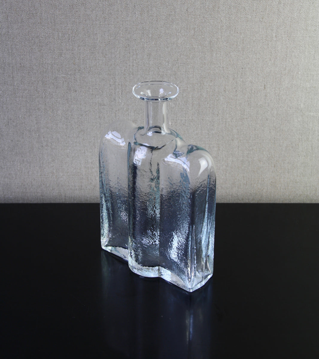 "Clear Model 1721 ""Railo"" Bottle <br> Nanny Still, 1974"