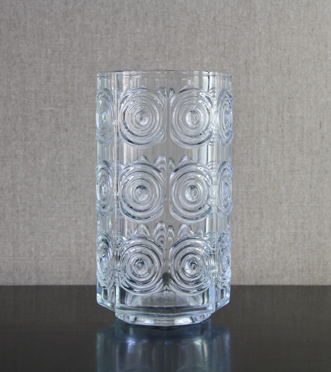 "Clear Model 5682 ""Rengas"" (Rings) Vase by Tamara Aladin, 1972"