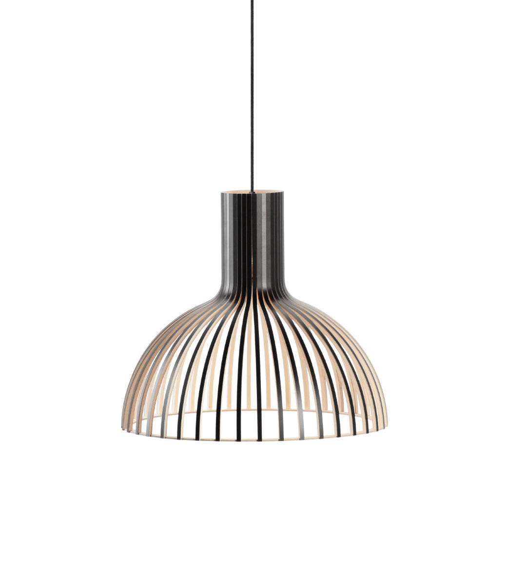 Black High end ceiling pendant Victo 4251 1