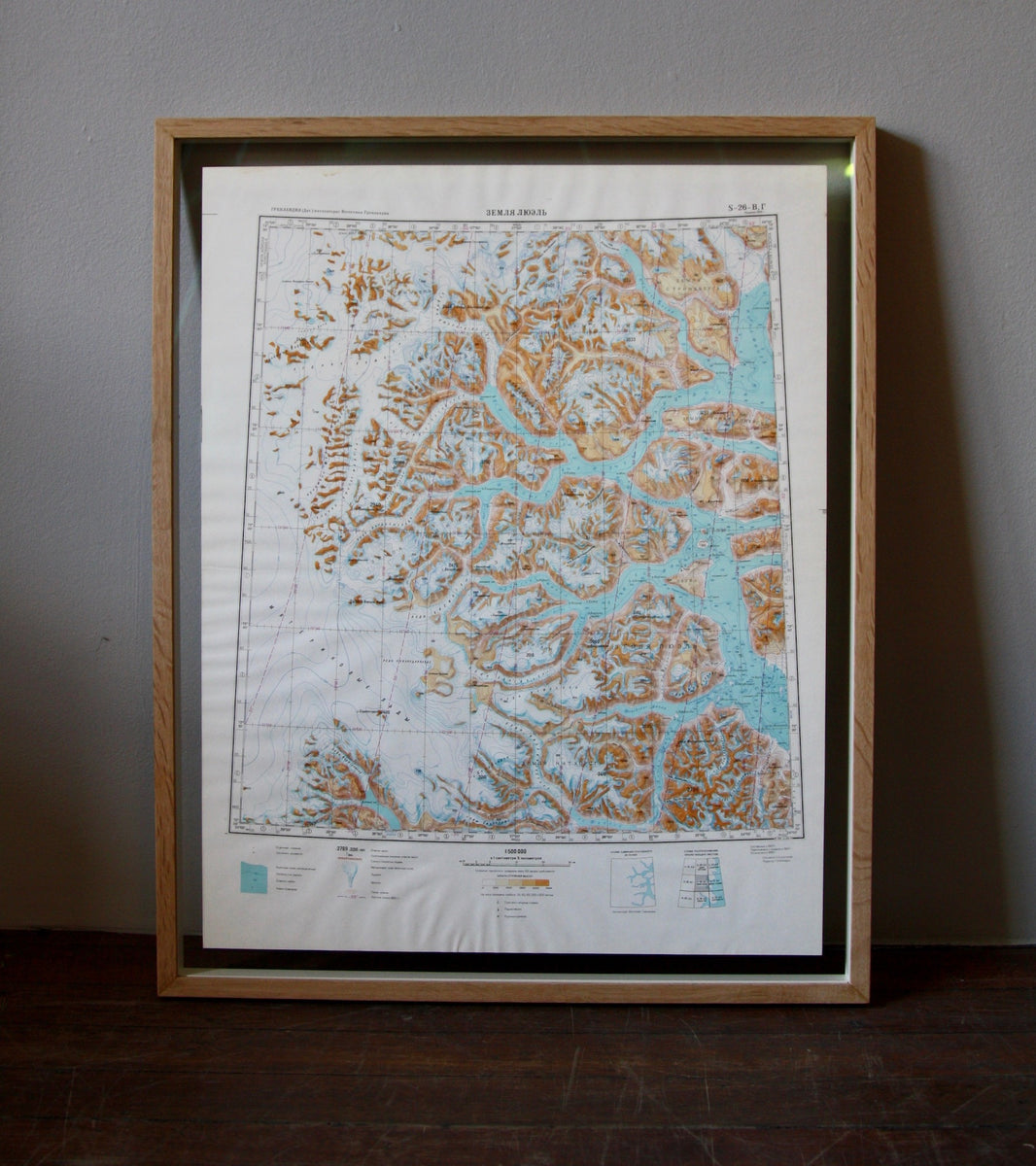 1960s Soviet Maps of Greenland - Image 10