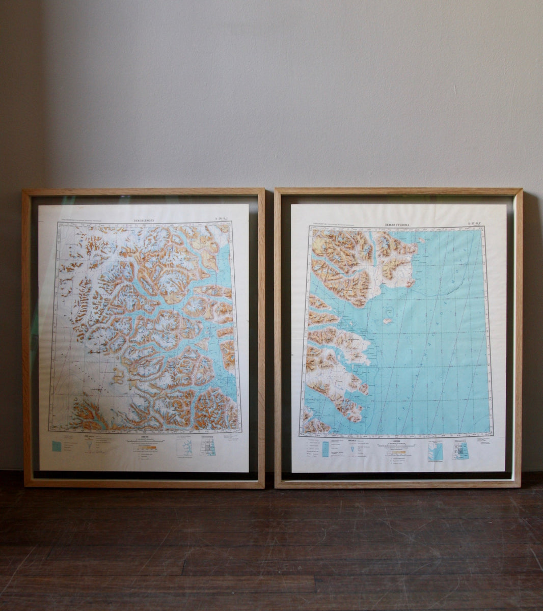 1960s Soviet Maps of Greenland - Image 12
