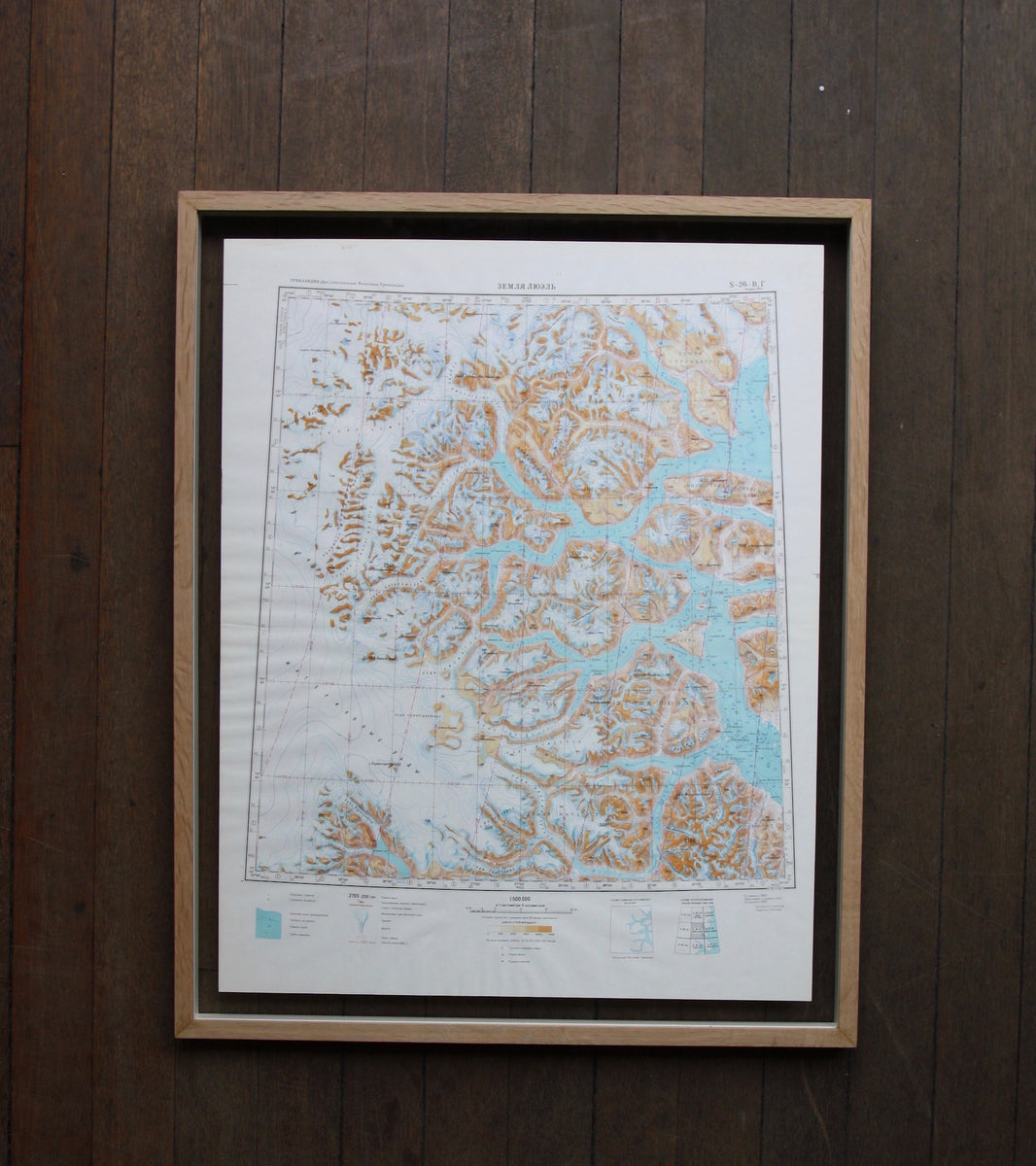 1960s Soviet Maps of Greenland - Image 7