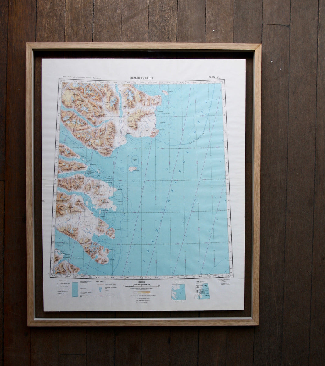 Mid 20th Century Soviet Maps of Greenland