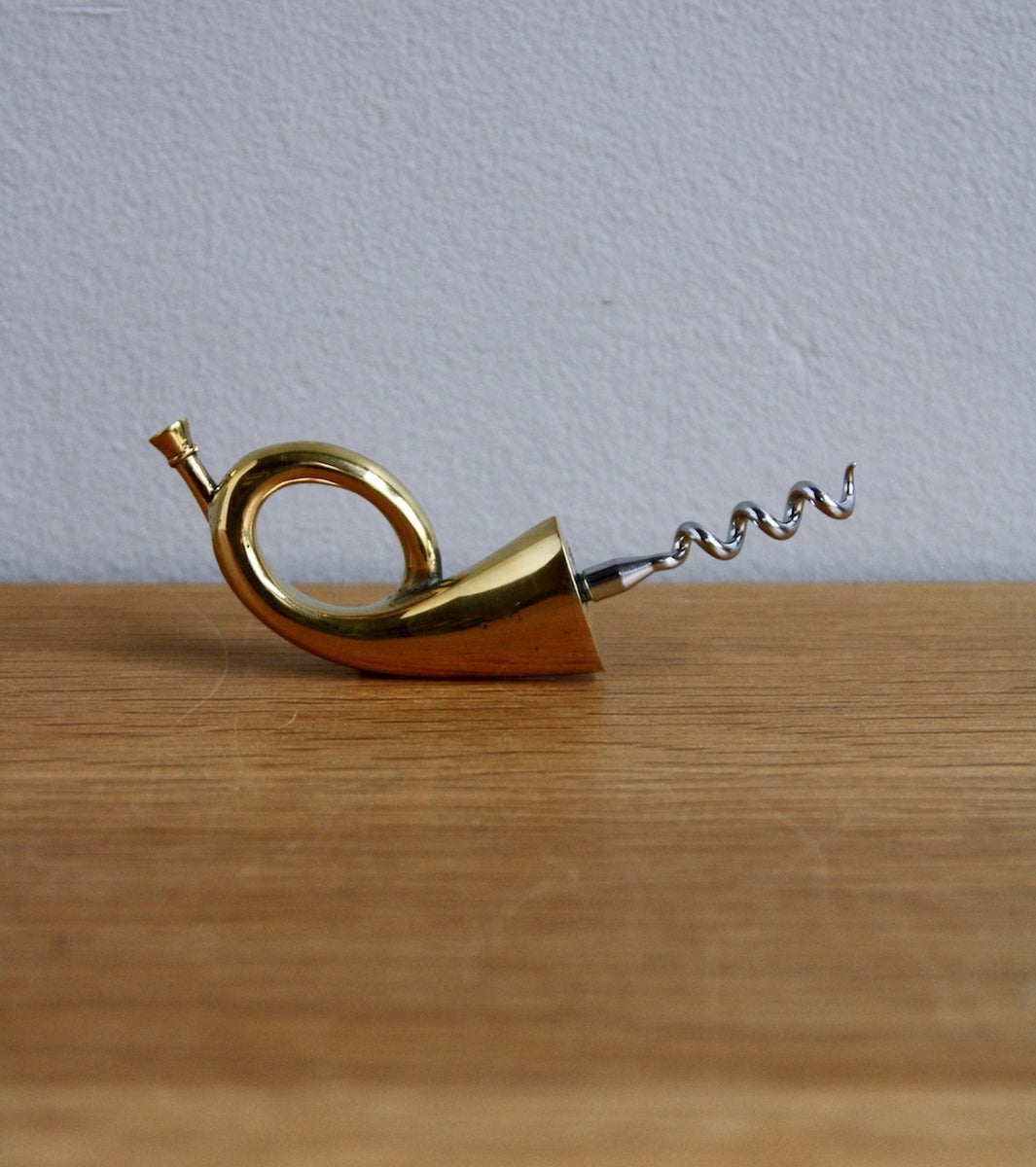 Witty Austrian Post Horn Shaped Corkscrew Carl Auböck - Image 4