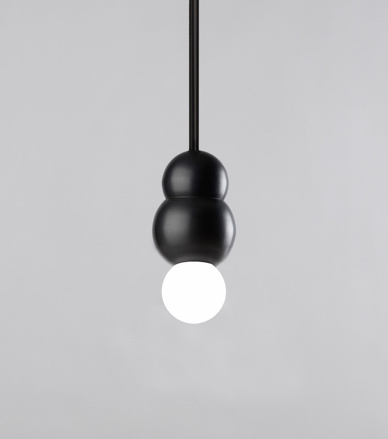 Ball Light Small Pendant Rod Polished Nickel Michael Anastassiades - Image 3