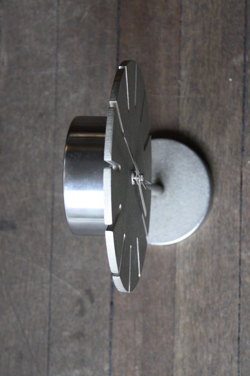 Cast Nickel Table Clock Carl Auböck - Image 12