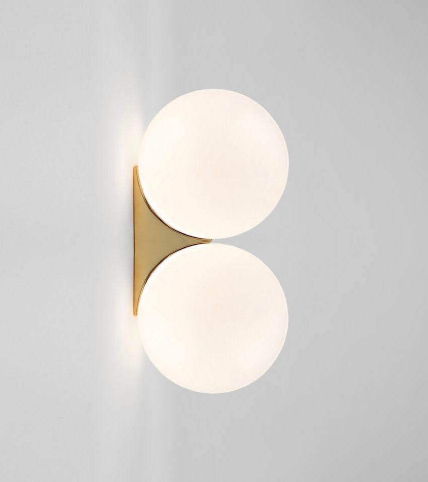 Double Sconce 150Polished Nickel Michael Anastassiades - Image 2