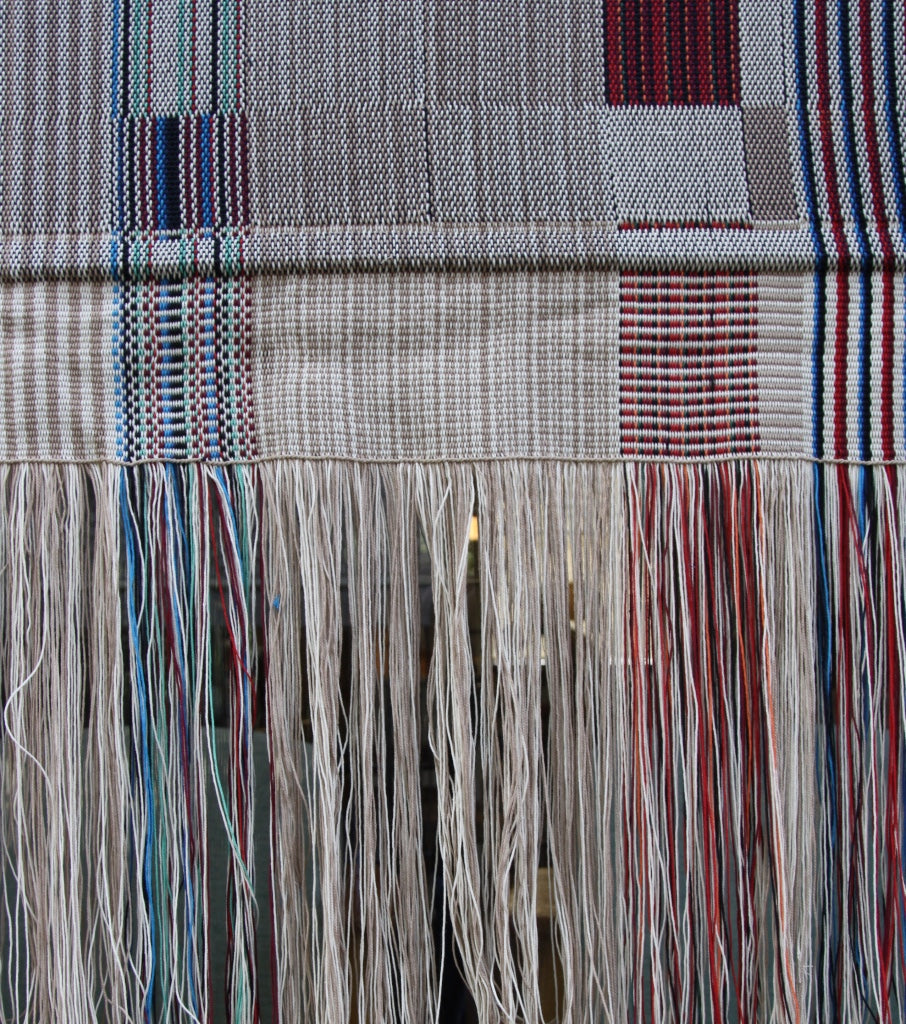Hand-woven Textile #2 Joanna Louca - expensive Joanna Louca Cyprus Art Textiles Loewe Craft Prize Homo Sapiens Exhibition Venice Female Art Weaver New young talented quality