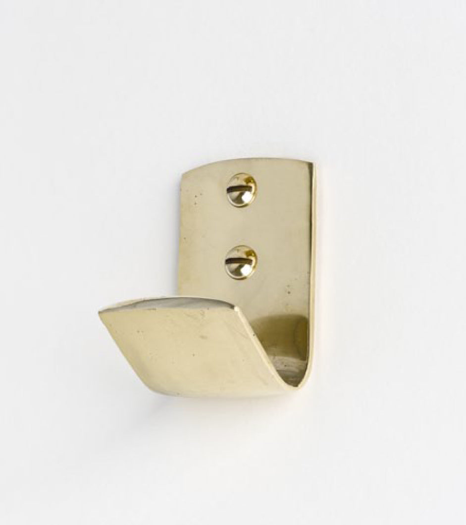 Carl Auböck wall Hook 5262 solid brass 1