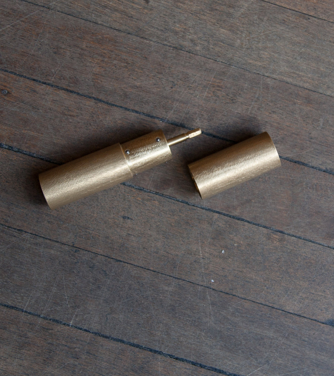 Italic Mill - Filed Brass Michael Anastassiades & Carl Auböck  - Image 13