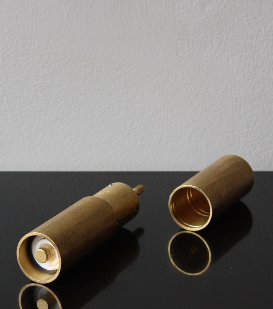 Italic Mill - Filed Brass Michael Anastassiades & Carl Auböck  - Image 7