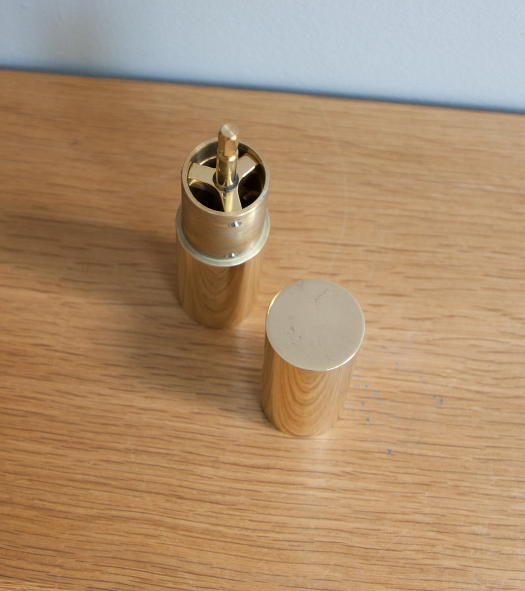 Italic Mill - Solid Polished Brass Michael Anastassiades & Carl Auböck  - Image 10