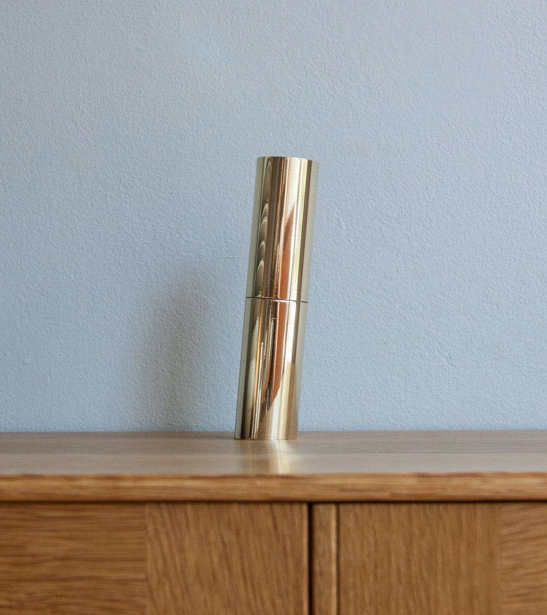 Modern Industrial Italic Mill - Polished Brass Michael Anastassiades & Carl Auböck  - Image 4