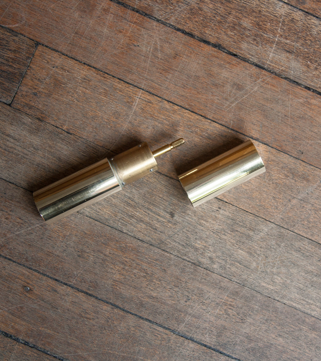 Cleverly Designed Italic Mill - Polished Brass Michael Anastassiades & Carl Auböck  - Image 9