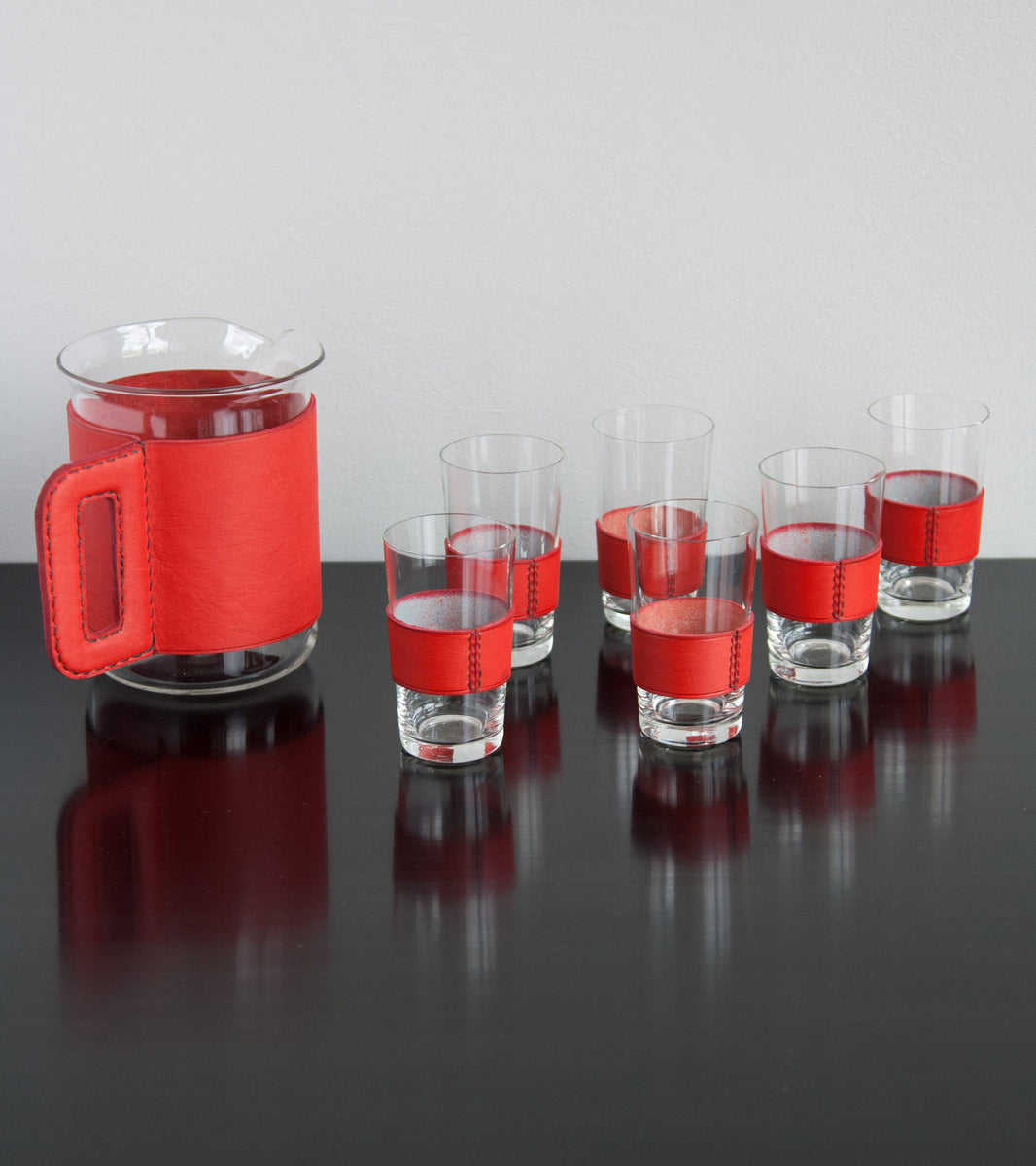 Striking Jug & 6 glasses set  Carl Auböck - Image 10