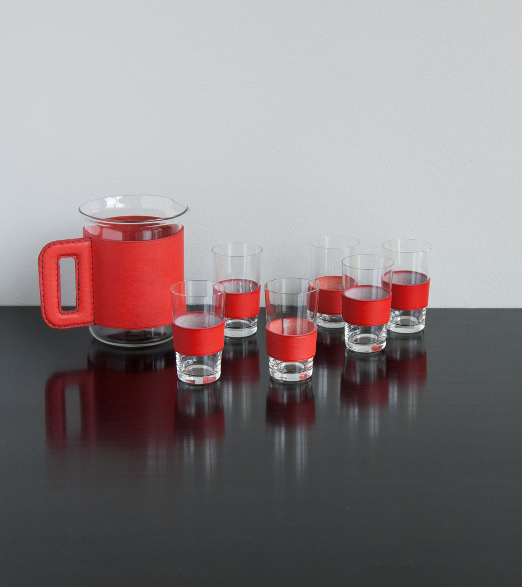 Jug & 6 glasses by Austrian Creative Carl Auböck - Image 9