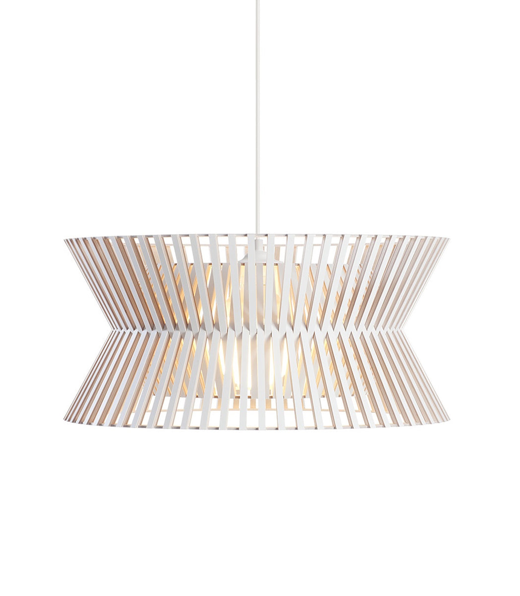 Pendant Scandi design Kontro 6000 White  Secto Design