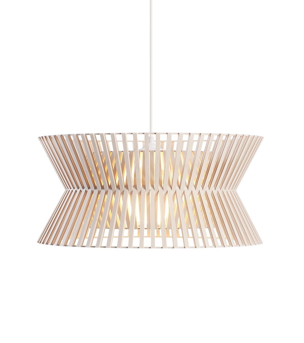 minimalistic Finnish ceiling pendant light kontro 6000