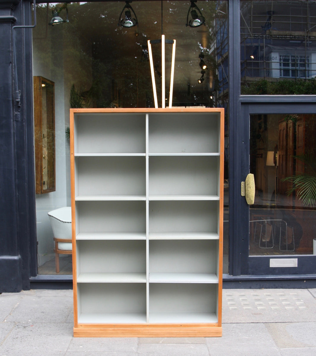 Large Bookcase  Børge Mogensen and Grete Meyer - Simple Quality Danish Modern Beautiful Handmade Danish Design Architect Designed Simple Built for the future Storage