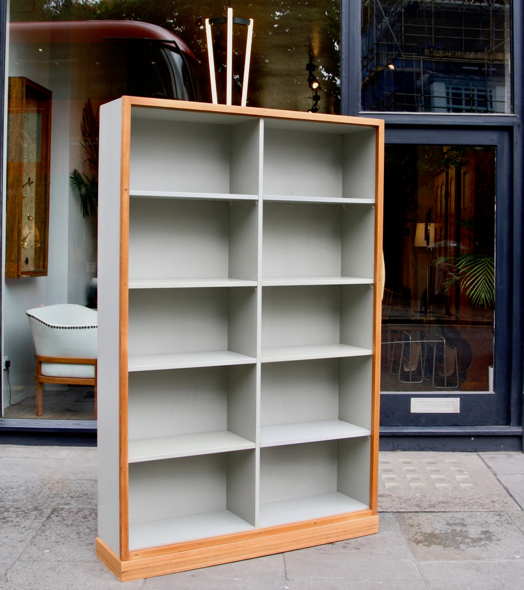 Large Bookcase  Børge Mogensen and Grete Meyer - Quality Danish Modern Beautiful Handmade Danish Design Architect Designed Simple Built for the future Storage  Amazing