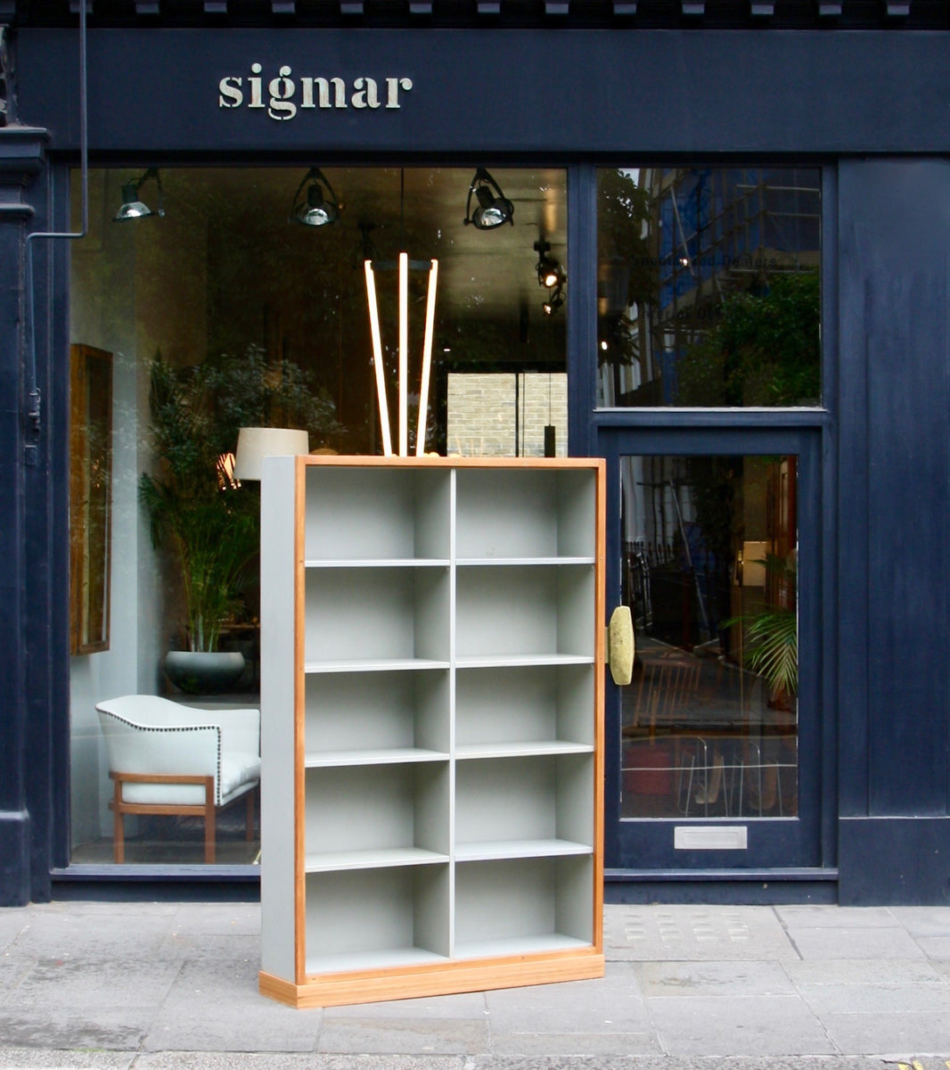 Large Bookcase  Børge Mogensen and Grete Meyer - Kings Road Shop Quality Danish Modern Beautiful Handmade Danish Design Architect Designed Simple Built for the future Storage