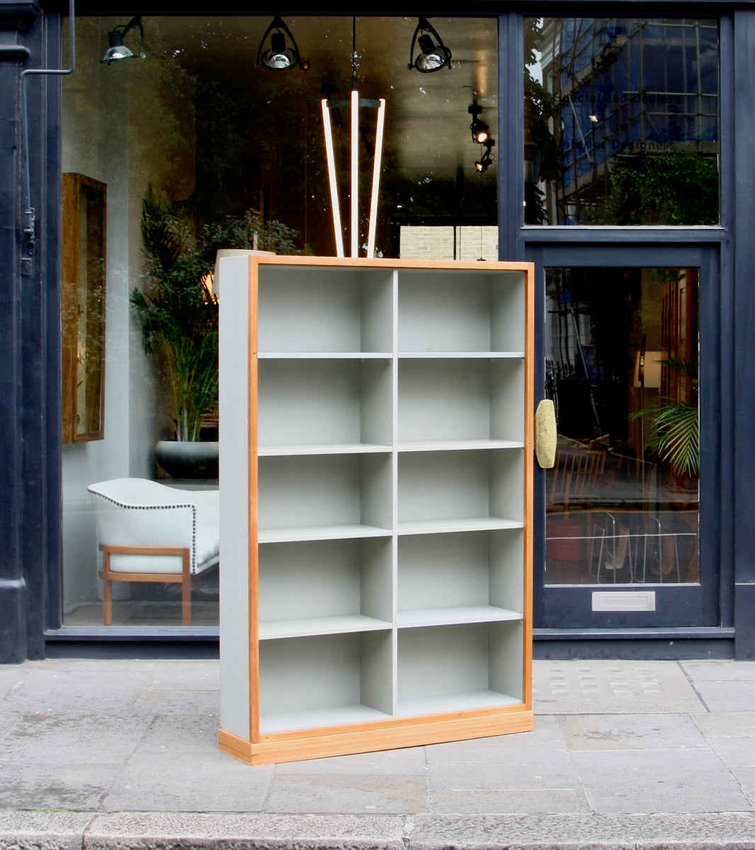 Large Bookcase  Børge Mogensen and Grete Meyer - Quality Danish Modern Beautiful Handmade Danish Design Architect Designed Simple Built for the future Storage Practical Books Women Architects