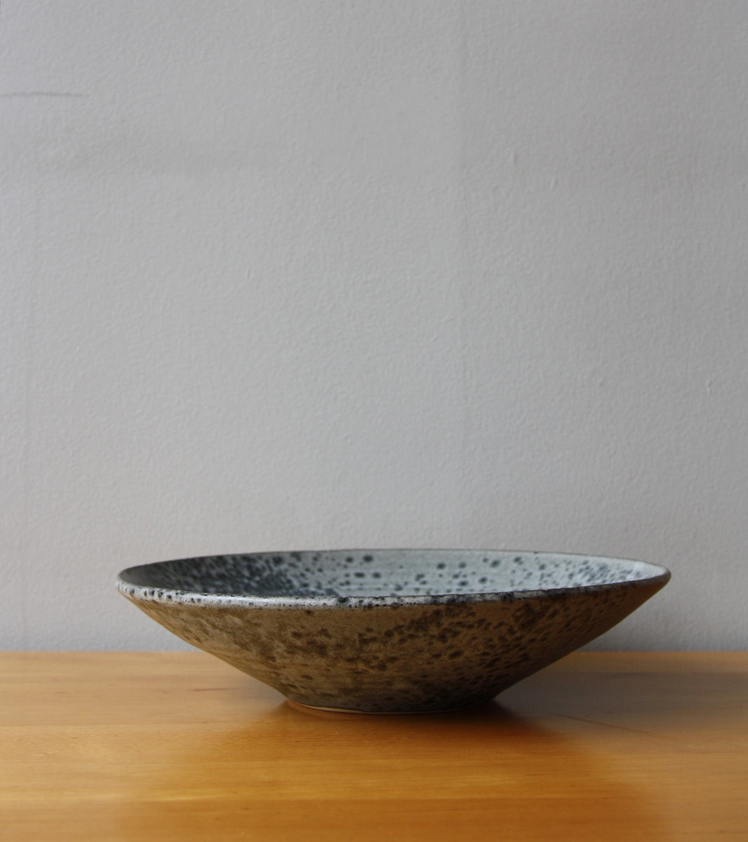 Large Flat Out Bowl 11Grey Glaze Kasper Würtz - Image 4
