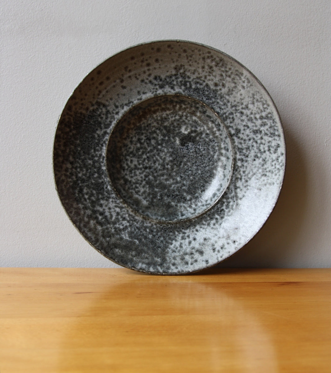 Large Flat Out Bowl 11Grey Glaze Kasper Würtz - Image 5