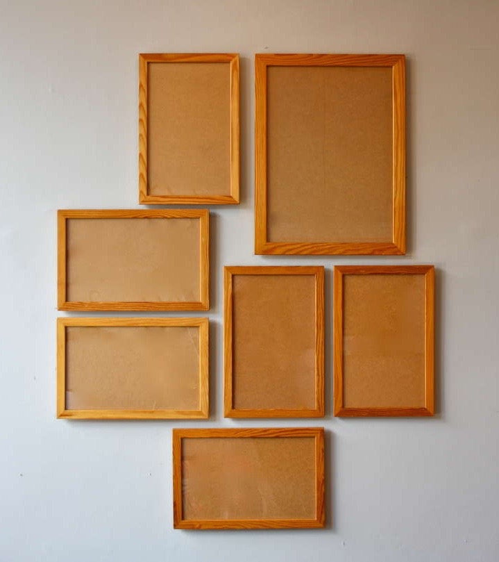 Large Picture Frame Mogens Koch  - Mogens Koch rud Rasmussen made in Copenhagen quality handmade pine frames for life cleaver mathematical furniture kaare klint Danish masters