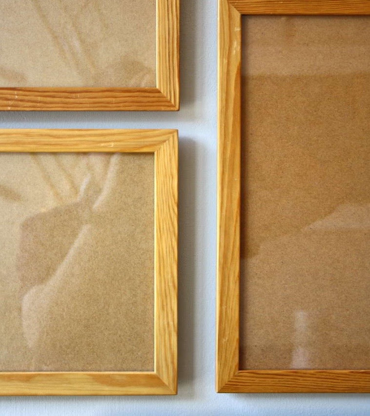 Large Picture Frame Mogens Koch  - reflections Mogens Koch rud Rasmussen made in Copenhagen quality handmade pine frames for life cleaver mathematical furniture kaare klint Danish masters