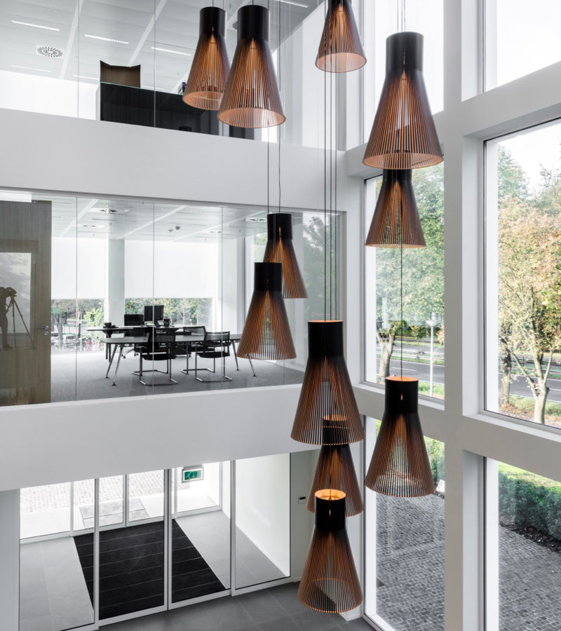 Magnum 4202 Black cluster office display handmade Secto Design ceiling lights nordic