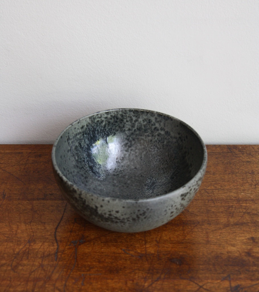 Medium Deep Bowl 10Black Glaze Kasper Würtz - Image 2
