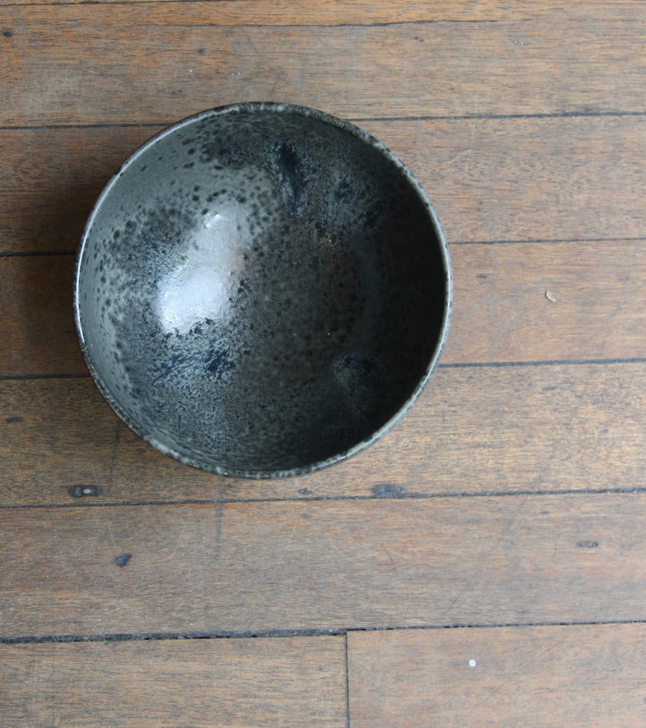 Medium Deep Bowl 10Black Glaze Kasper Würtz - Image 5