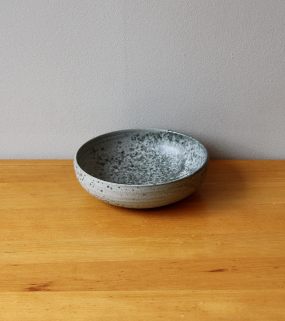 Medium Shallow Bowl 8Grey Glaze  Kasper Würtz - Image 1
