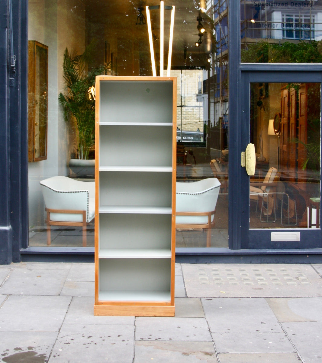 Narrow Bookcase #2 Børge Mogensen & Grete Meyer - Quality Danish Modern Beautiful Handmade Danish Design Architect Designed Simple Built for the future Storage original  1960s