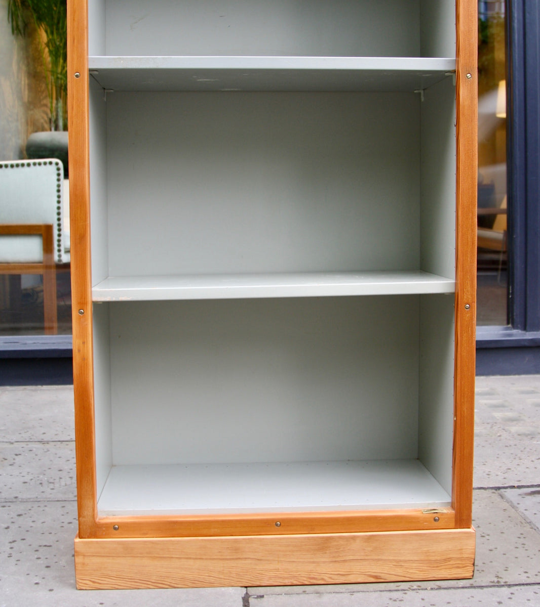 Narrow Bookcase #2 Børge Mogensen & Grete Meyer - detailed Quality Danish Modern Beautiful Handmade Danish Design Architect Designed Simple Built for the future Storage original