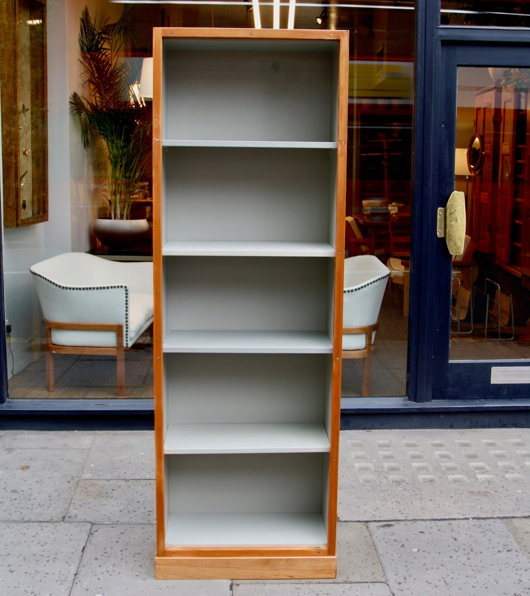 Narrow Bookcase #2 Børge Mogensen & Grete Meyer - kings road  Quality Danish Modern Beautiful Handmade Danish Design Architect Designed Simple Built for the future Storage original