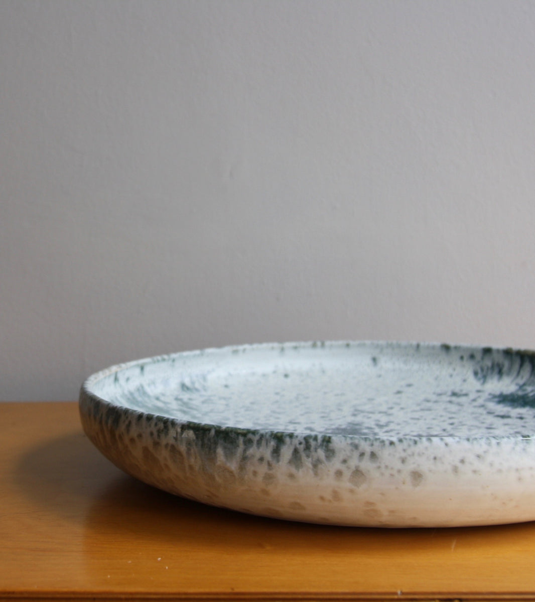 One Off Large PlatterBlue & White Glaze   Kasper Würtz - Image 5