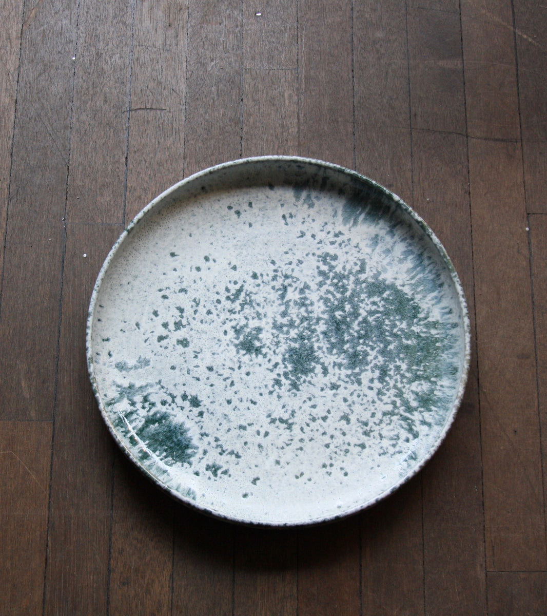 One Off Large PlatterBlue & White Glaze   Kasper Würtz - Image 7