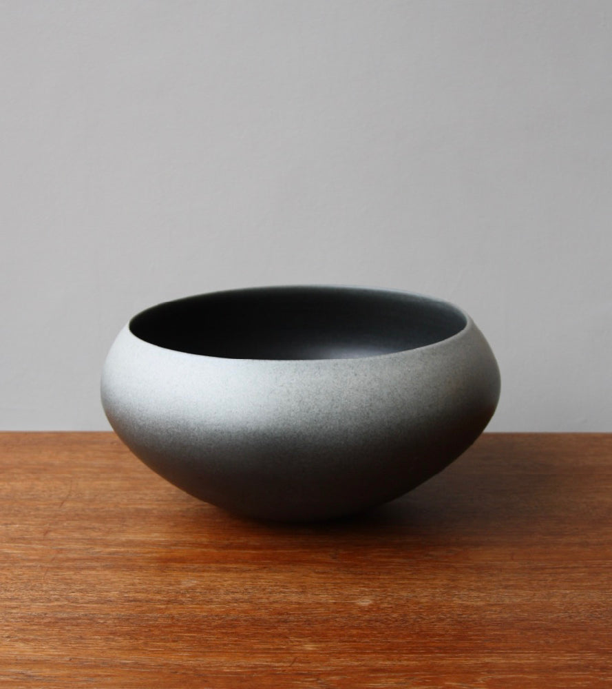 Onion Shaped Planter Gradient Grey Glaze #2  Kasper Würtz - Image 1
