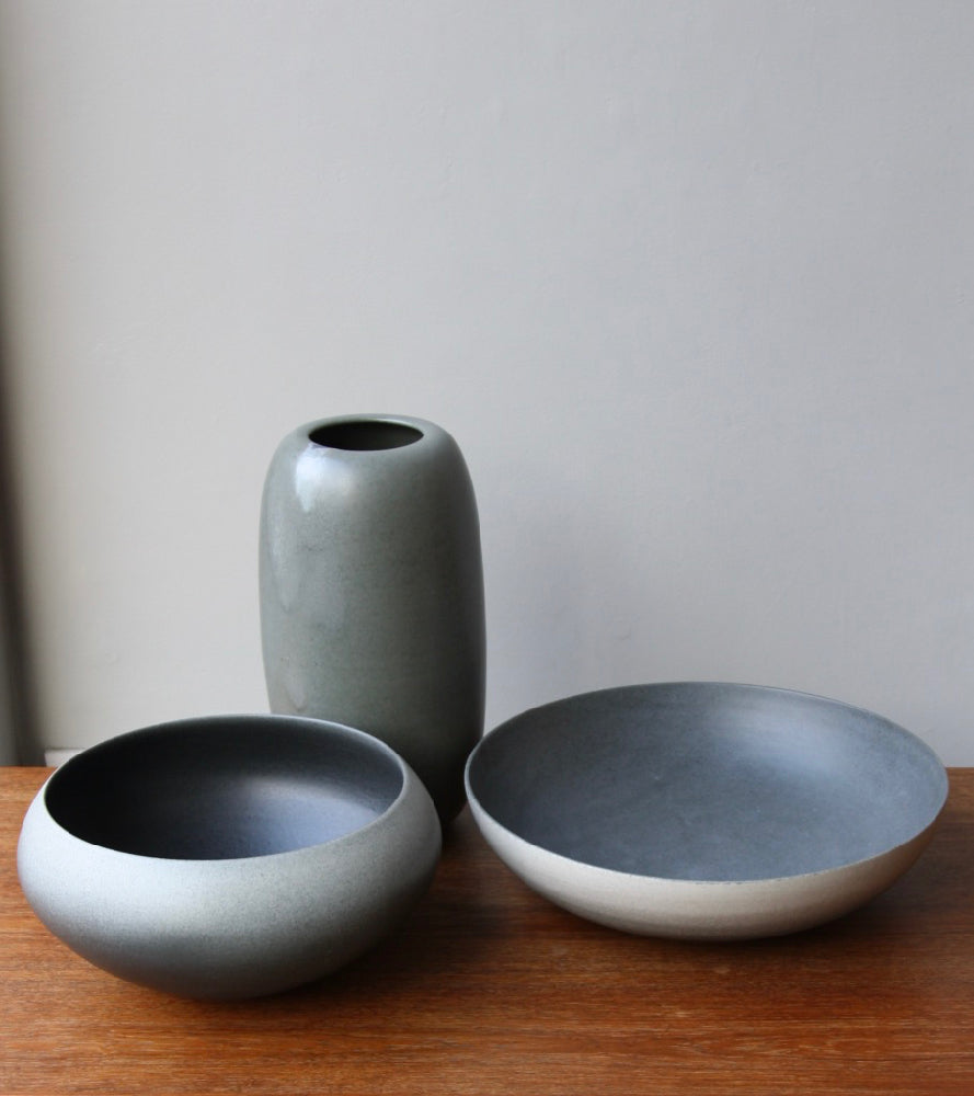 Onion Shaped Planter Gradient Grey Glaze #2  Kasper Würtz - Image 2