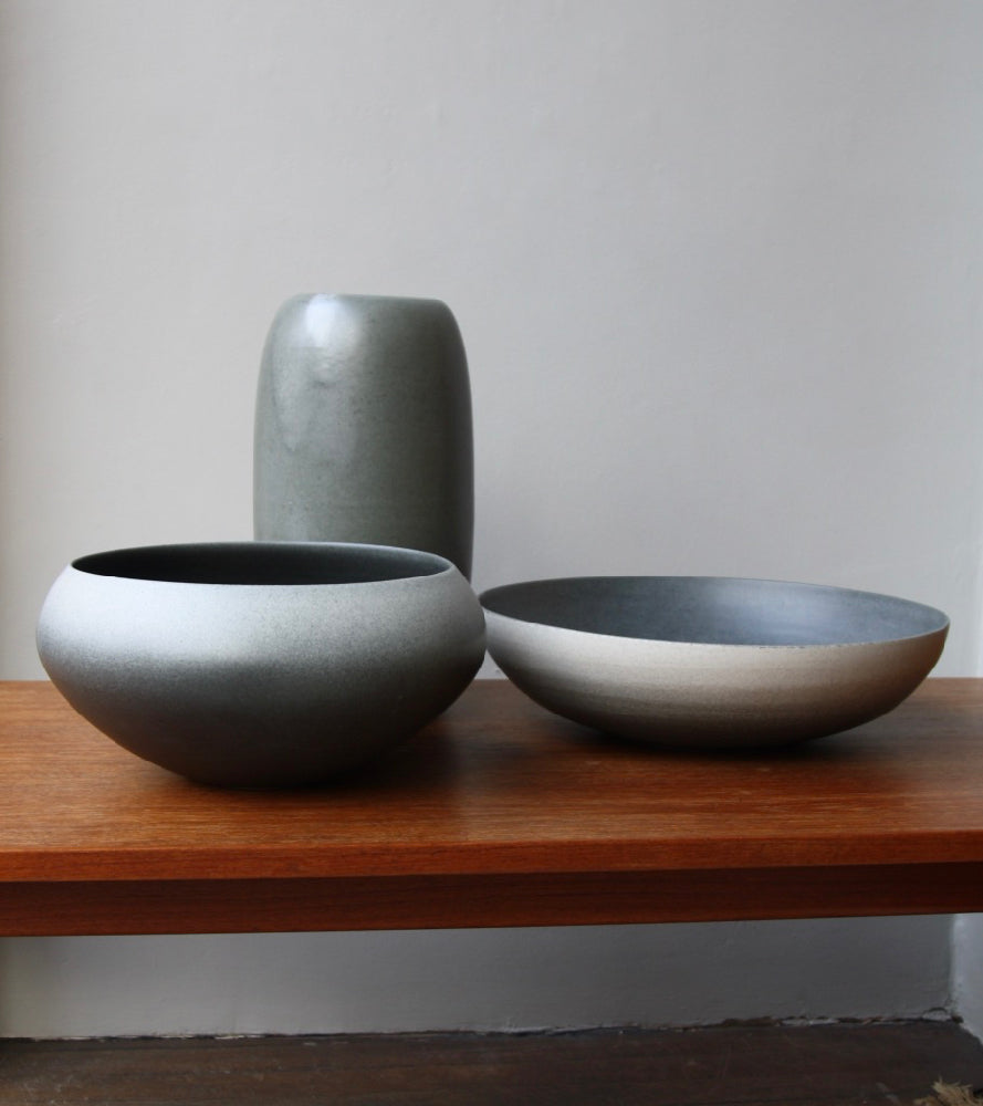 Onion Shaped Planter Gradient Grey Glaze #2  Kasper Würtz - Image 3