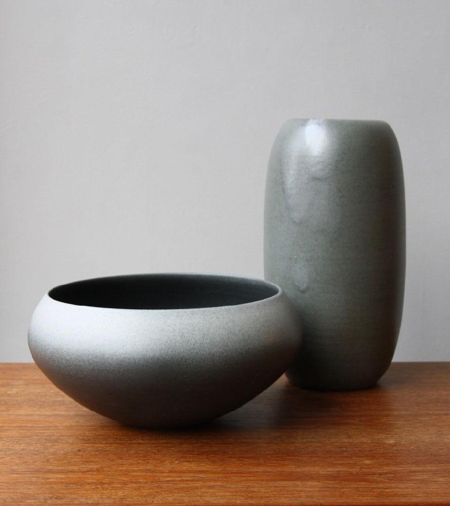 Onion Shaped Planter Gradient Grey Glaze #2  Kasper Würtz - Image 4