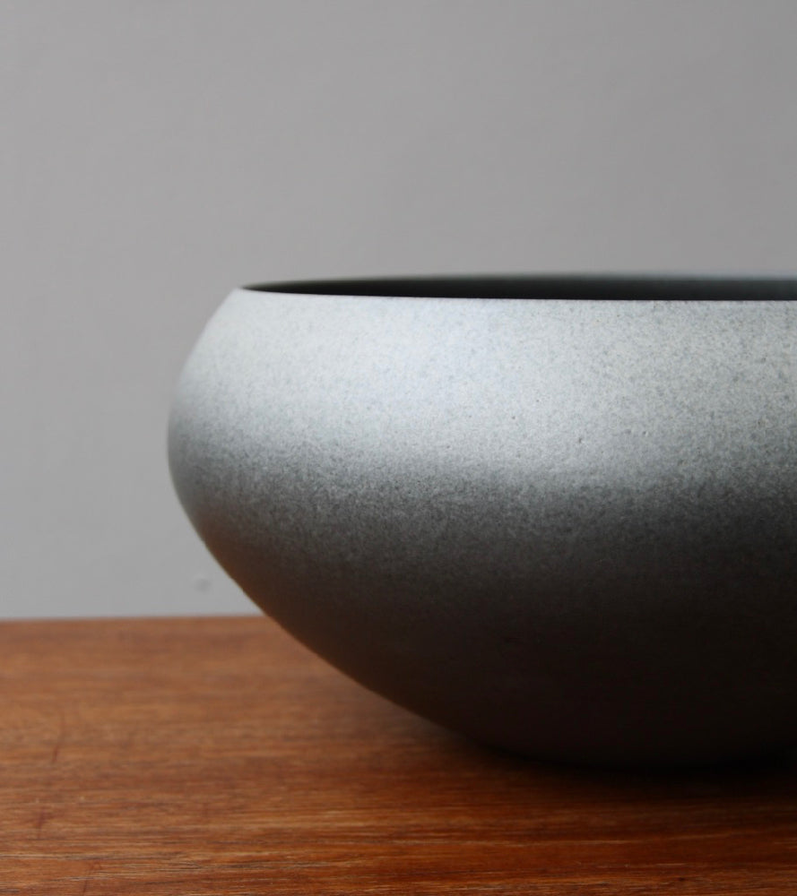 Onion Shaped Planter Gradient Grey Glaze #2  Kasper Würtz - Image 8