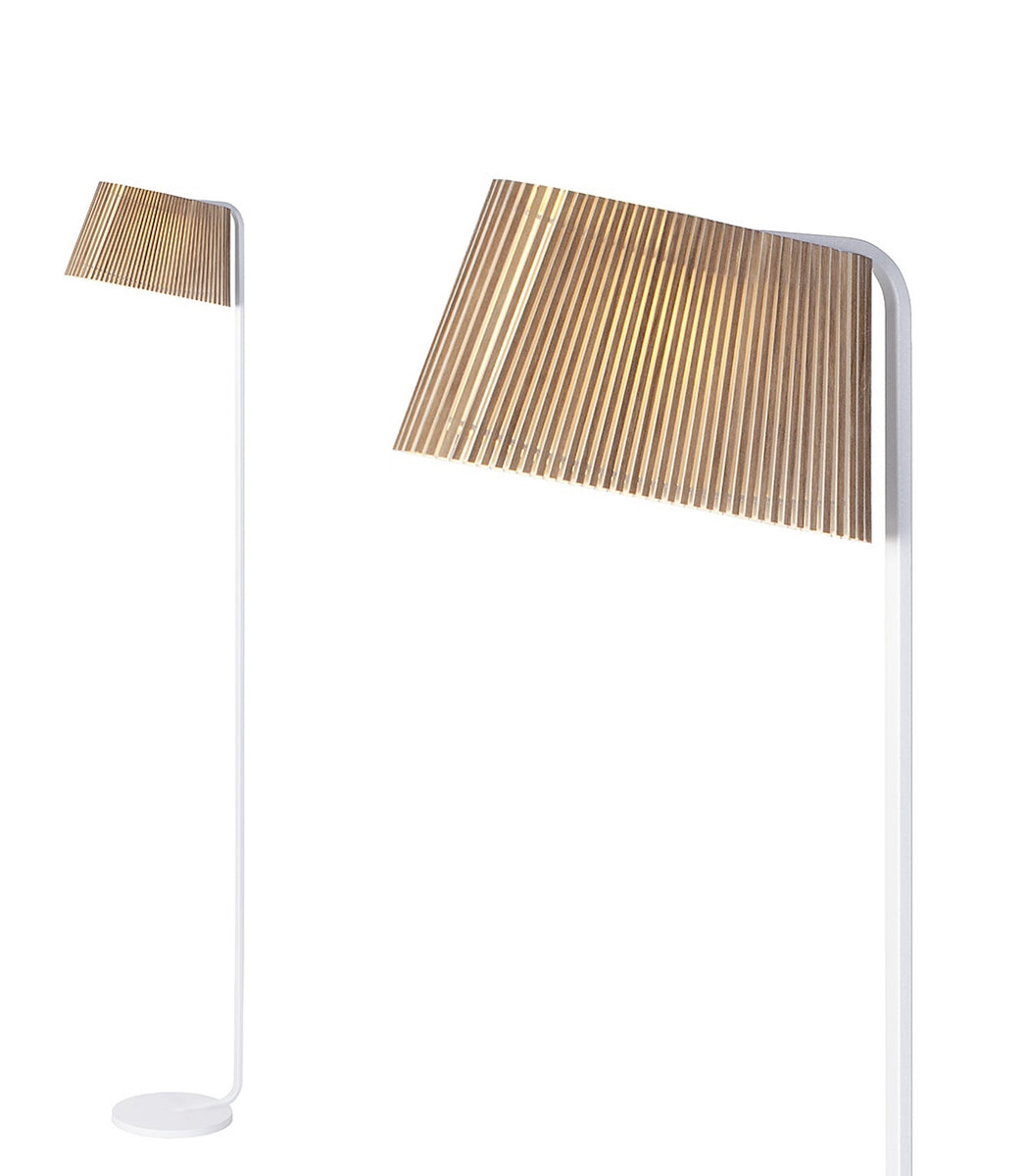 Floor Light Owalo 7010 Walnut Secto Finnish design