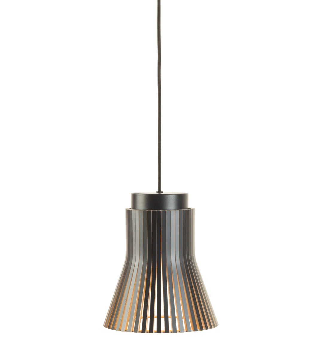 Seppo Koho Pendant light Secto Finland Petite 4600 Black