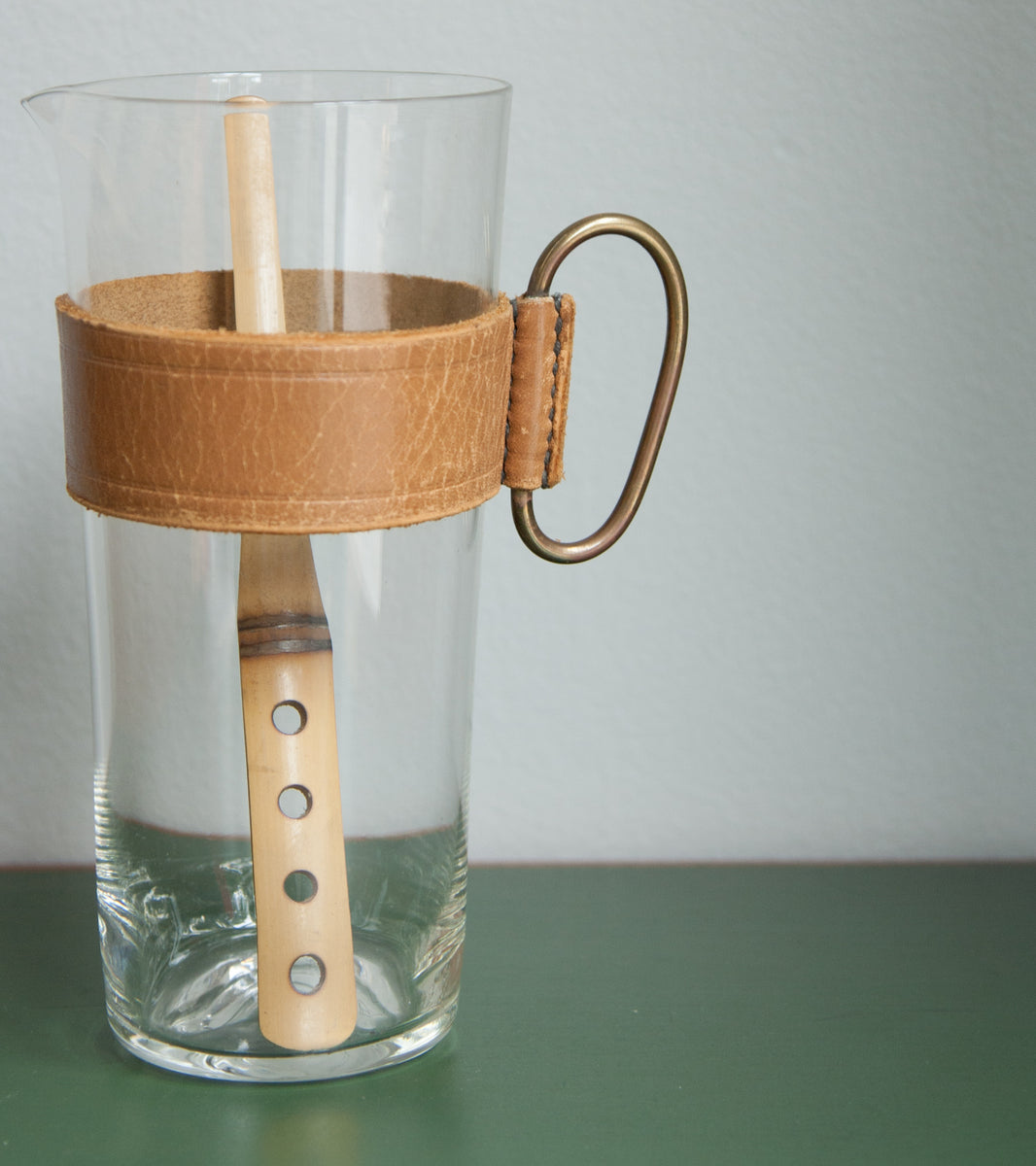 Original Pitcher & Bamboo Stirrer, Carl Auböck