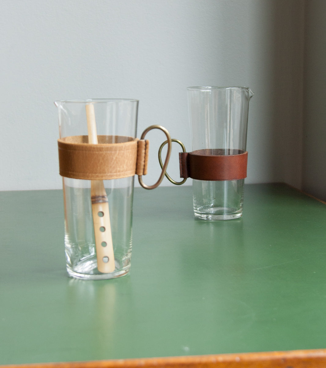 Pitcher & Bamboo Stirrer, Carl Auböck, 1950's