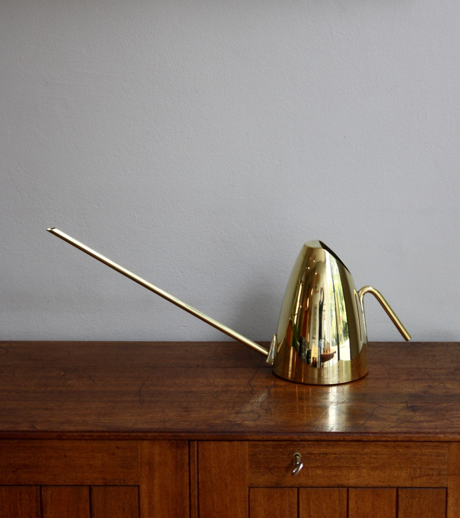 Slick Polished Brass Watering Can Carl Auböck - Image 1