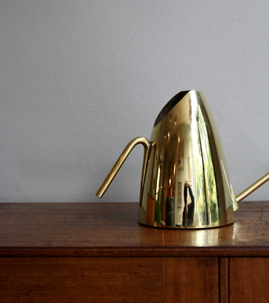 Austrian Polished Brass Watering Can Carl Auböck - Image 4